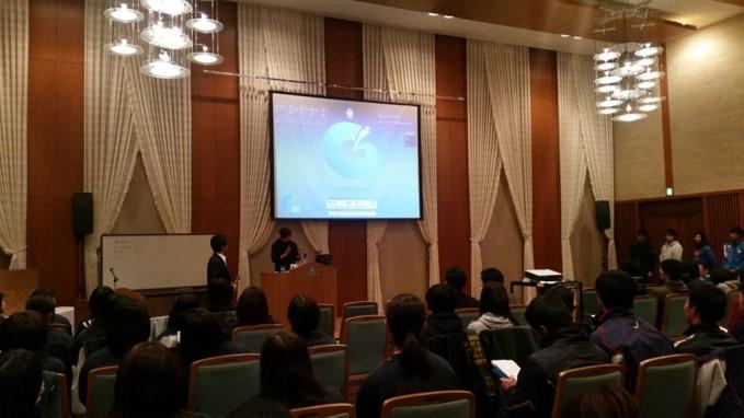 関西学院大学体育会でのセミナー